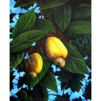 cashew - oil on canvas painting